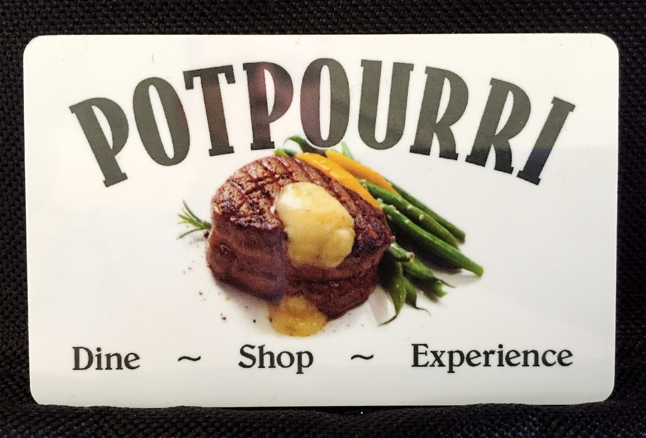 Potpourri House Gift Card
