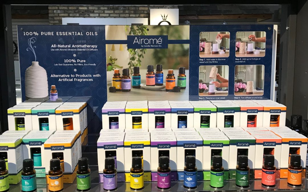 Airome Essential Oils and Diffusers